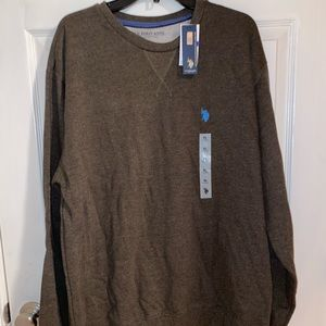 US POLO ASSN Brown XXL Pullover Sweater